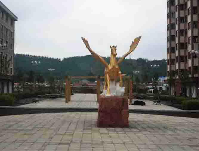 牡丹江园区 雕塑
