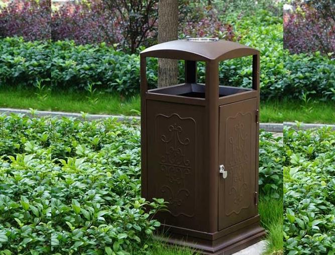 园艺垃圾箱