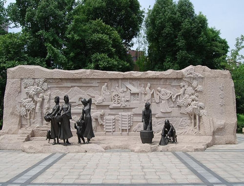 大连水泥景观雕塑