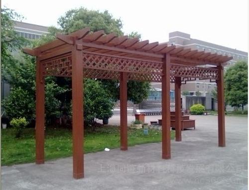 大连防腐木藤架
