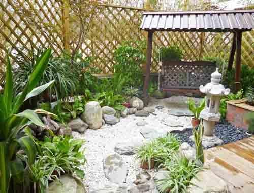 大连园林景观庭院装修设计