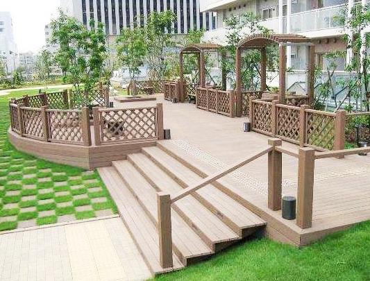 大连庭院塑木地板