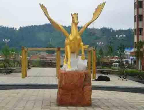 大连广场景观雕塑
