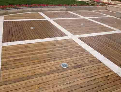 大连防腐木地板