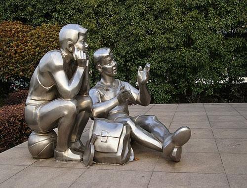 人物景观雕塑