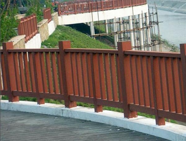大连防腐木围栏