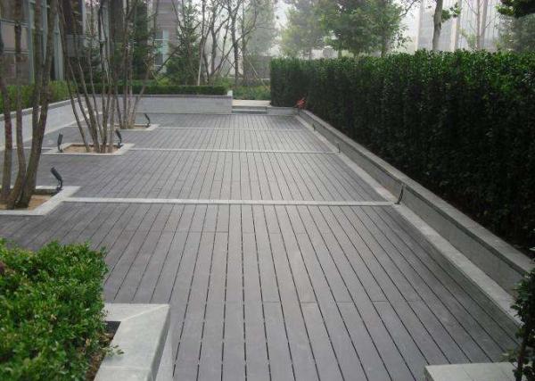 大连户外地板、防腐木地板、木栈道铺装